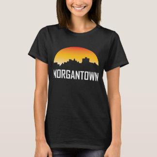 Zonsondergang van de van West- morgantown de T Shirt