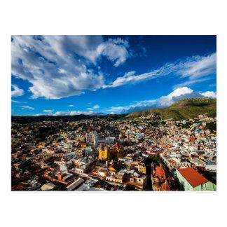 Zonsondergang van Guanajuato Briefkaart