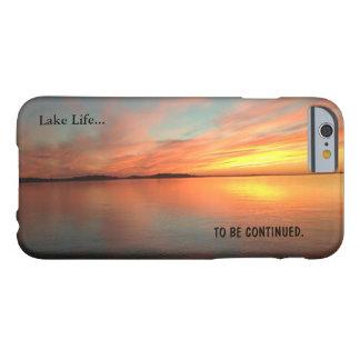 Zonsondergang van het het levens de schilderachtig barely there iPhone 6 hoesje
