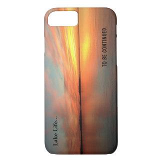 Zonsondergang van het het levens de schilderachtig iPhone 7 hoesje