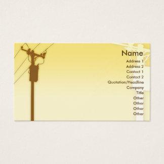 Zonsondergang - Zaken Visitekaartjes