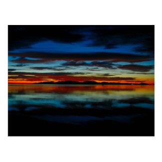 Zonsopgang 01 van Baja Briefkaart
