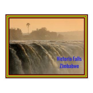 Zonsopgang bij de Herfsten van Victoria Briefkaart