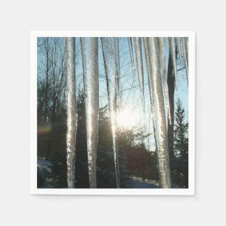 Zonsopgang door de Fotografie van de Natuur van de Papieren Servetten