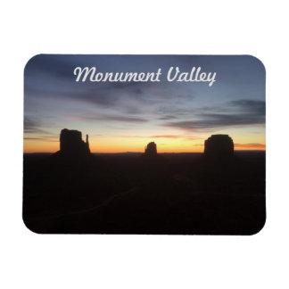 Zonsopgang in de Vallei van het Monument Magneet