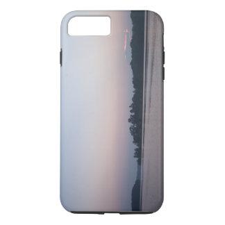 Zonsopgang op iPhone 7 van het Meer plus Hoesje