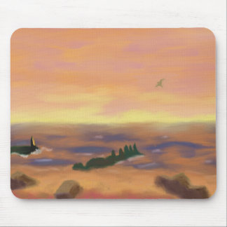 Zonsopgang over Water, Mousepad Muismat