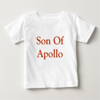 Zoon van de Bovenkant van het Baby van Apollo Baby T Shirts