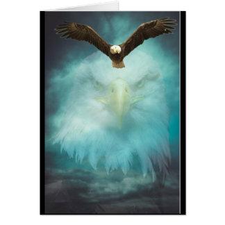 Zoon van de Verjaardag van Eagle de Gelukkige Kaart