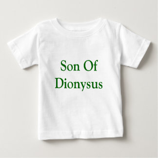 Zoon van Dionysus babyoverhemd Baby T Shirts