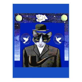 Zoon van Kat - het Briefkaart van de Parodie