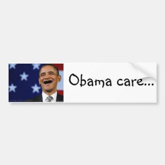 Zorg II van Obama de Sticker van de Bumper