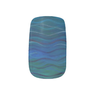 Zoutwater & Oceanic Acryl Geschilderde Stickers Minx Nail Folie