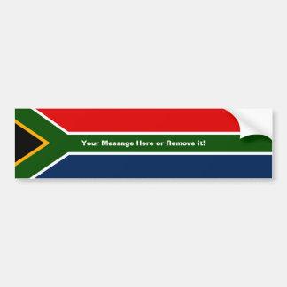 Zuid-Afrika Bumpersticker