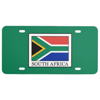 Zuid-Afrika Nummerplaat