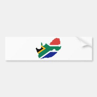 Zuid-Afrika ZA Bumpersticker