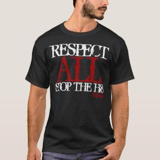 Zuid- Butte SK8 Eerbied AL Einde de haat h8 T Shirt