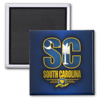 Zuid- Carolina (SC) Magneet