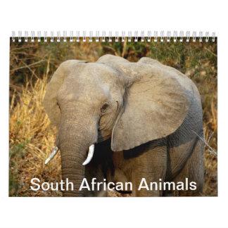 Zuidafrikaanse Dieren Kalender