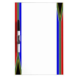 Zuidafrikaanse strepenvlag whiteboards