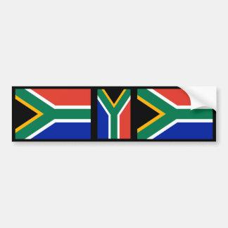 Zuidafrikaanse Vlag Bumpersticker