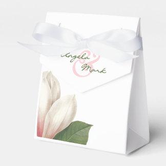Zuidelijk Roze en Wit Huwelijk   van de Bloem van Bedankdoosjes