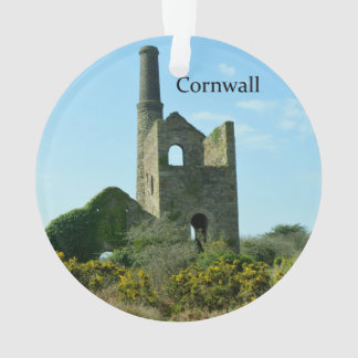 Zuiden Wheal Frances Tin Mine Cornwall Engeland Ornament