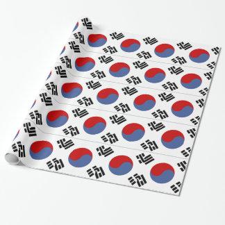 Zuidkoreaanse Vlag Inpakpapier