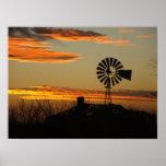 zuidwestelijke zonsondergang plaat