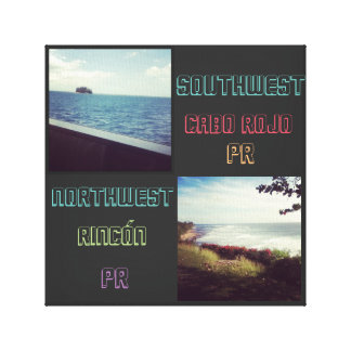 ZUIDWESTEN & NOORDWESTEN STRETCHED CANVAS PRINTS