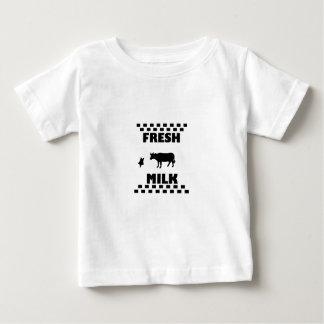 Zuivel verse koemelk baby t shirts