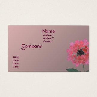 Zuiver Roze Visitekaartjes