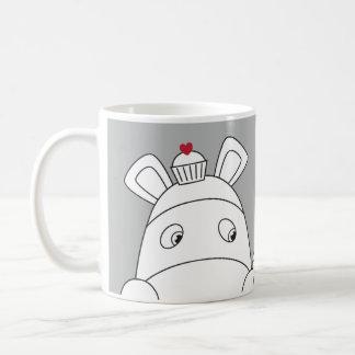 Zuivere Impossimals® - Groot Grijs Koffiemok