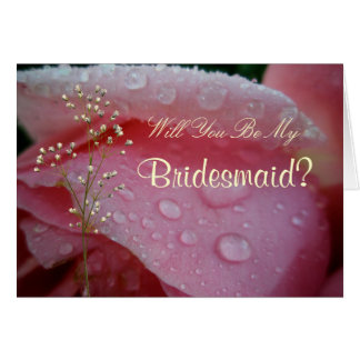 Zult u, Bruidsmeisje Mijn zijn? Kaart