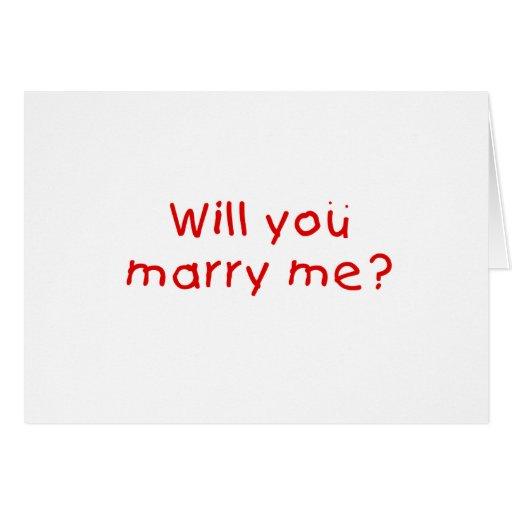 Zult u me huwen? De Sticker van de Zegel van de Wenskaart