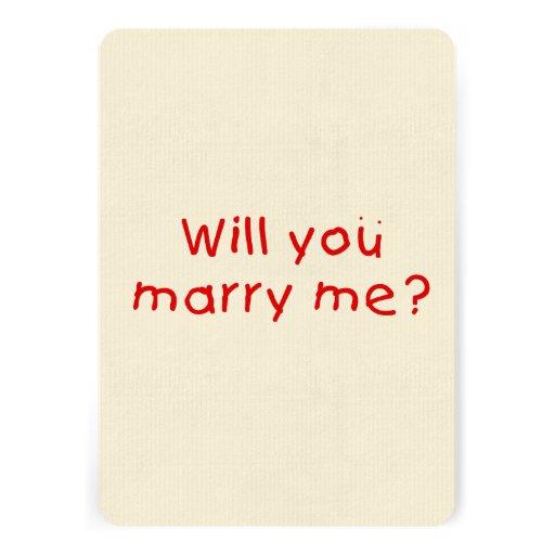 Zult u me huwen? De Sticker van de Zegel van de Persoonlijke Uitnodiging