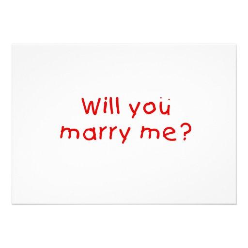 Zult u me huwen? De Sticker van de Zegel van de Uitnodiging