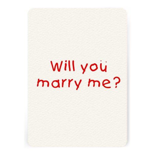 Zult u me huwen? De Sticker van de Zegel van de Persoonlijke Uitnodigingen