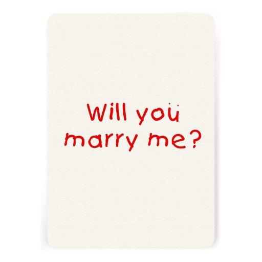 Zult u me huwen? De Sticker van de Zegel van de Gepersonaliseerde Uitnodiging