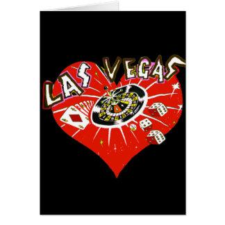 Zult u me in Las Vegas huwen Wenskaart