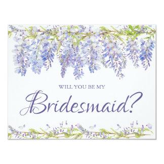 Zult u Mijn Bruidsmeisje | de Kaart van het