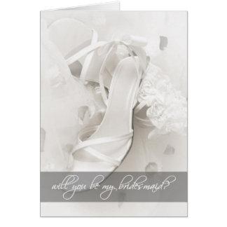 Zult u Mijn Bruidsmeisje zijn? Kaart