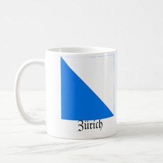 Zürich, de Vlaggen van Schweiz Fahnen Koffiemok