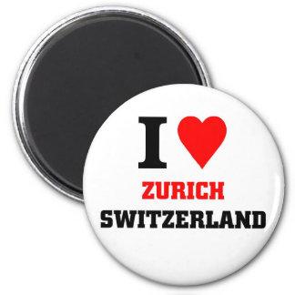 Zürich Zwitserland Magneet