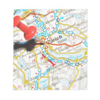 Zürich, Zwitserland Notitieblok