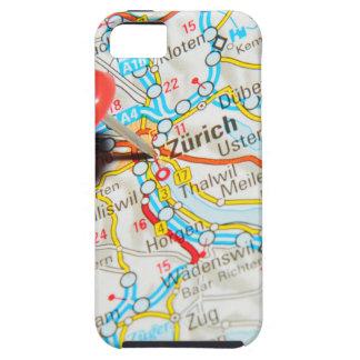 Zürich, Zwitserland Tough iPhone 5 Hoesje
