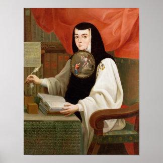Zuster Juana Ines de la Cruz Poster