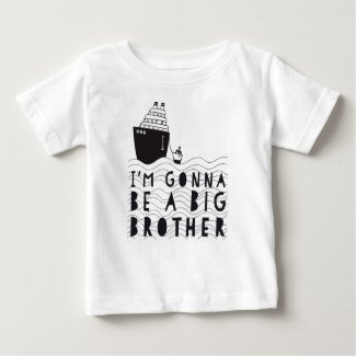 Zwanger: I'm gonna be a big brother Baby T Shirts