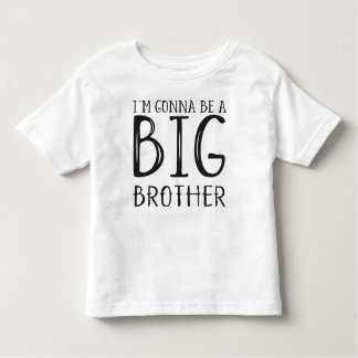Zwangerschap: I'm gonna be a BIG brother Kinder Shirts