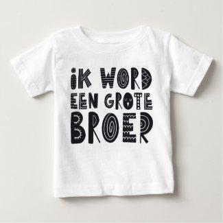 Zwangerschapsaankondiging: Ik word een grote broer Baby T Shirts